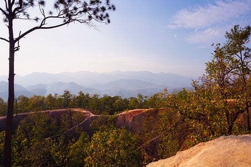 Le Pai Canyon en Thaïlande