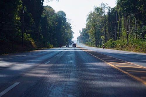Le réseau routier en Thaïlande