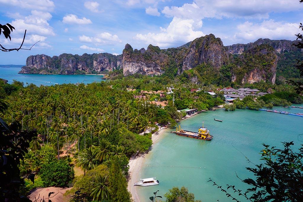 Railay Beach en Thaïlande