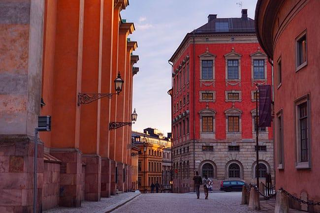 Gamla Stan, la vieille ville de Stockholm