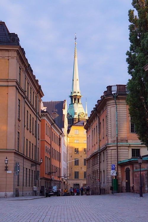Vieille ville Stockholm