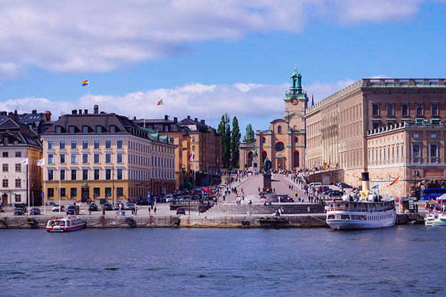 Palais royal de Stockholm
