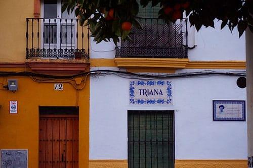 Le quartier de Triana à Séville, en Andalousie