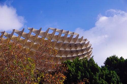 Le parasol à Séville, en Andalousie