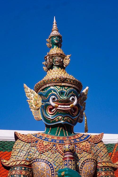Le grand palais à Bangkok en Thailande
