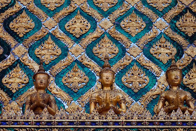 Le Wat Pho à Bangkok en Thailande
