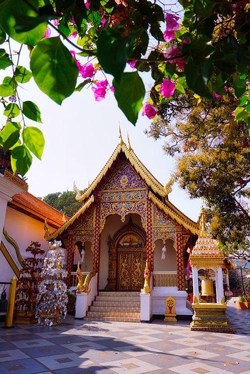 Le Doi Suthep à Chiang Mai, en Thaïlande