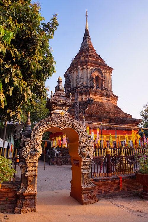 Le Wat Lok Molee à Chiang Mai en Thailande