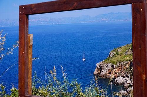 Réserve du zingaro dans le nord de la Sicile