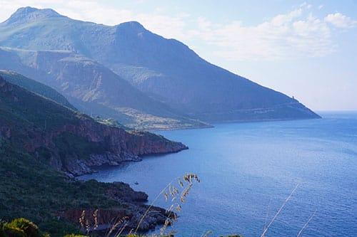 Montagne de la réserve naturelle du Zingaro