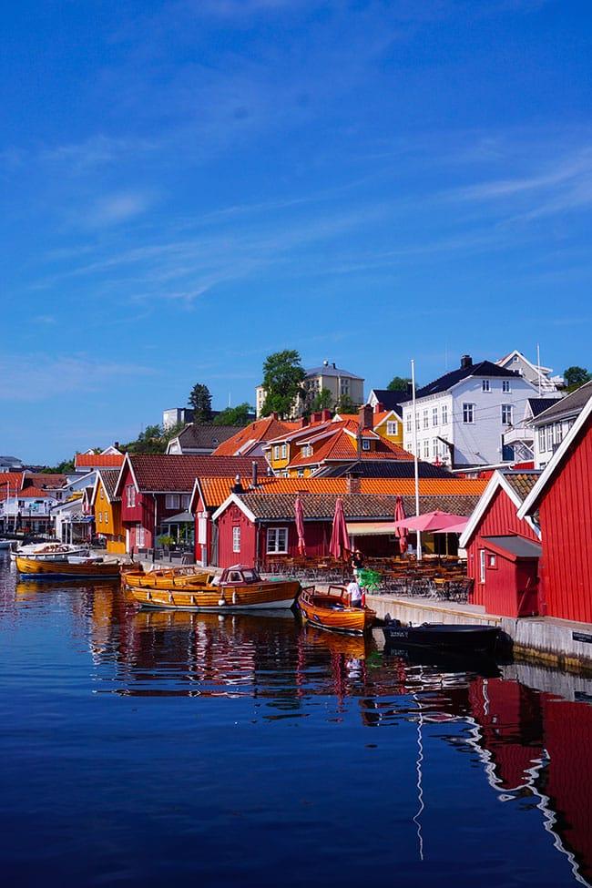Kragero en Norvege