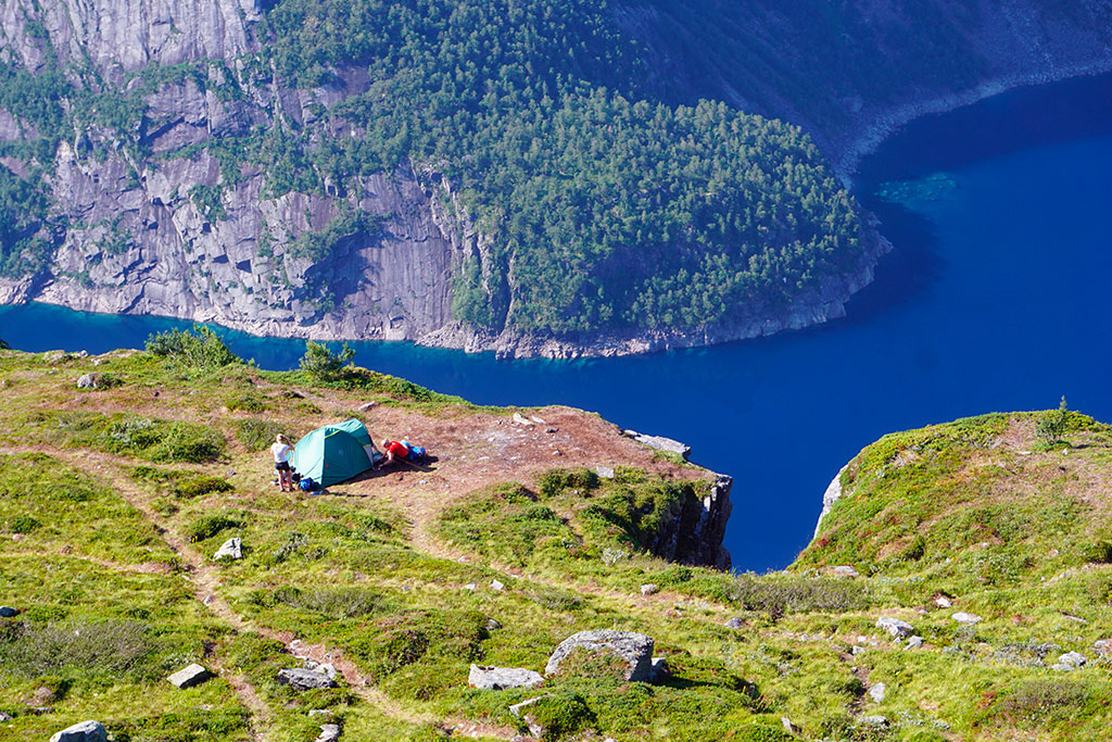 La randonnée de Trolltunga en Norvège