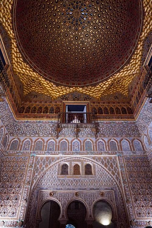 L'Alcazar de Seville en Andalousie