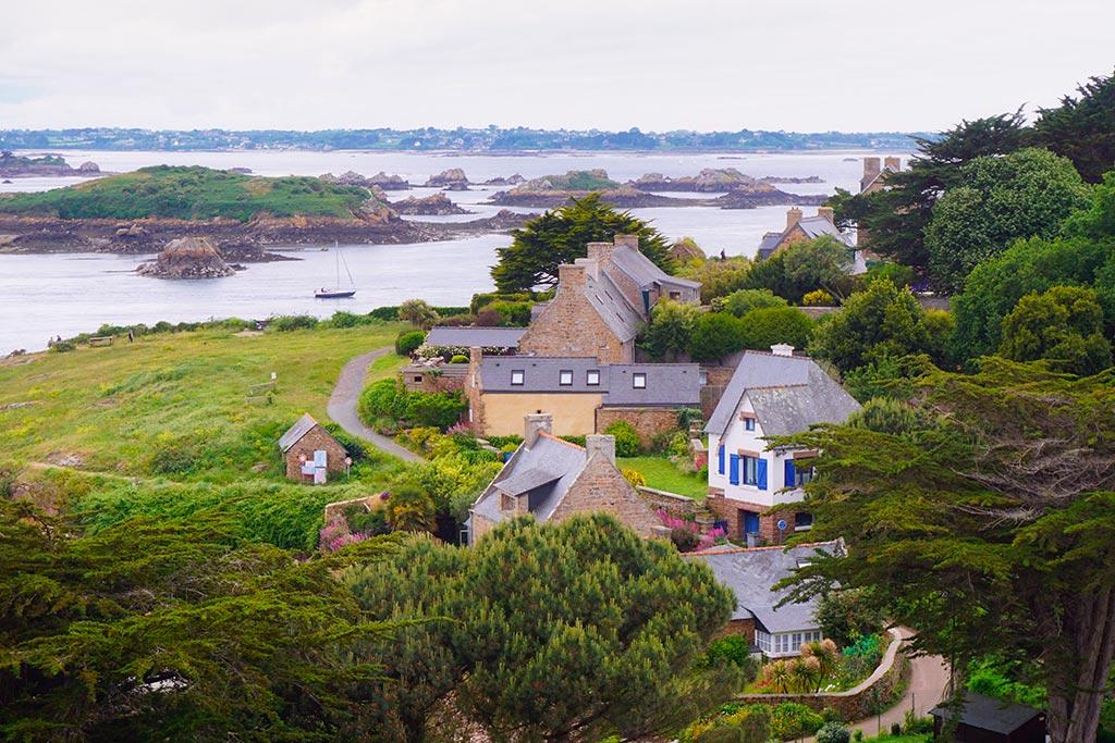 L'île de Bréhat en Bretagne
