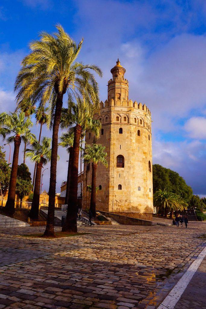La Torre del Oro à Séville en Andalousie