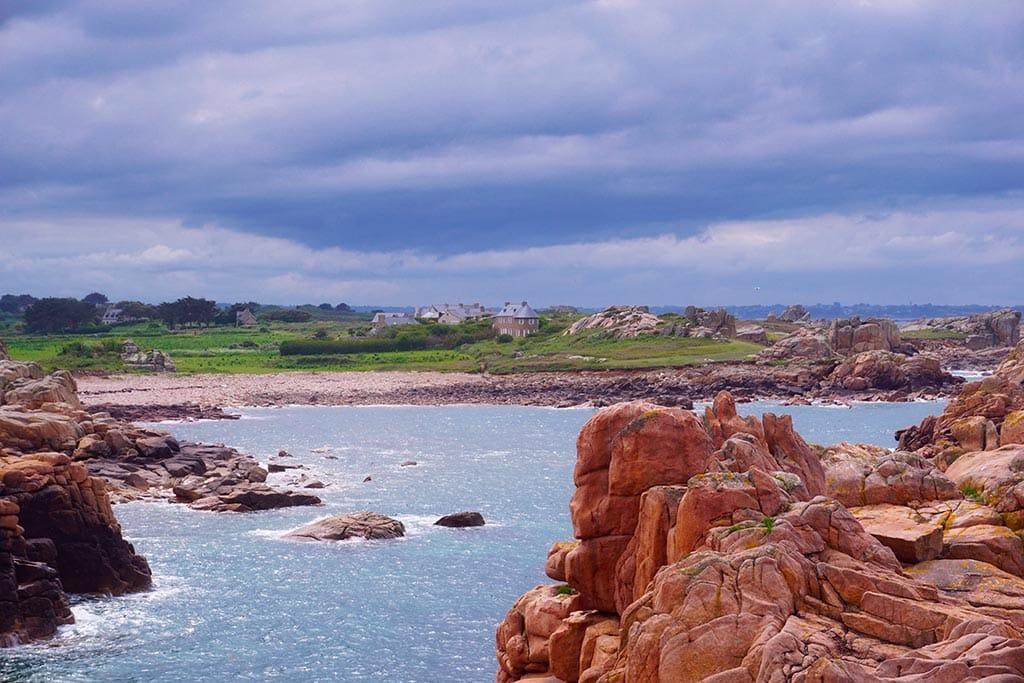 Phare du Paon sur l'ile de Bréhat
