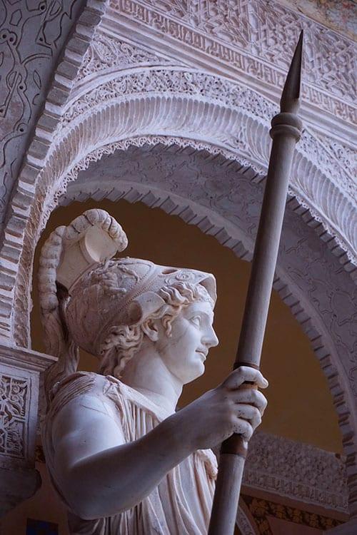 La Casa de Pilatos à Seville en Andalousie