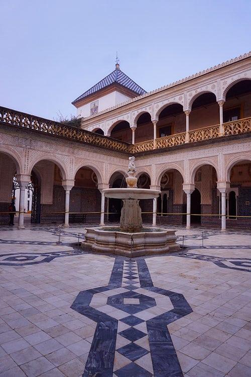 La Casa de Pilatos à Seville en Espagne