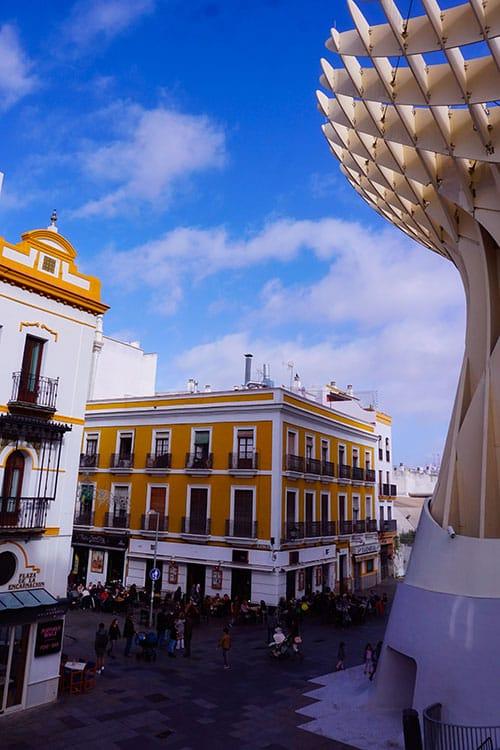 Le metropol parasol de Seville en Espagne
