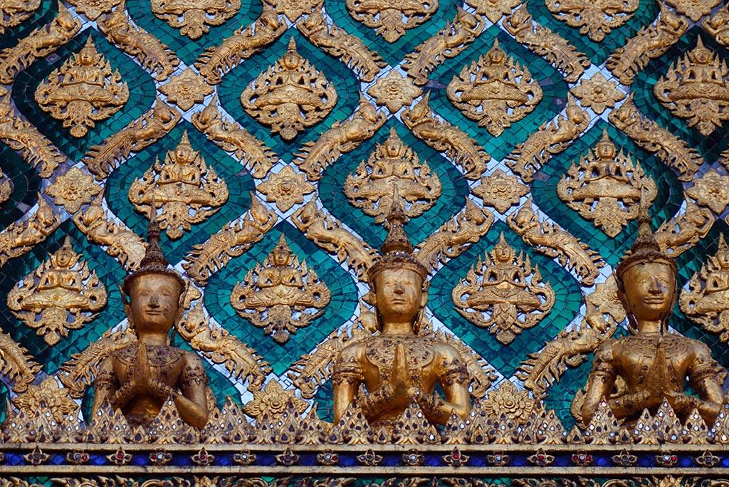 Temple à Bangkok en Thailande