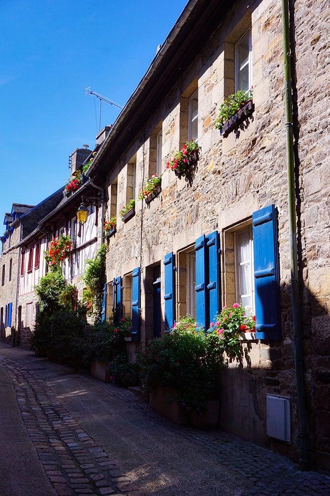 Vieille ville de Tréguier en Bretagne