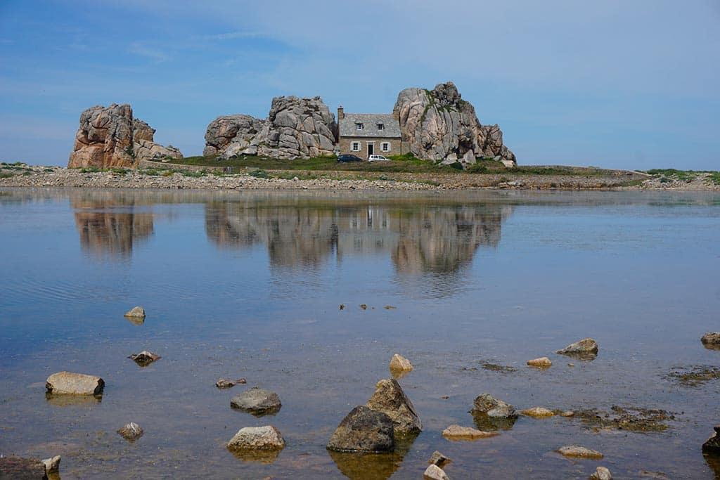 La maison du gouffre de Plougrescant
