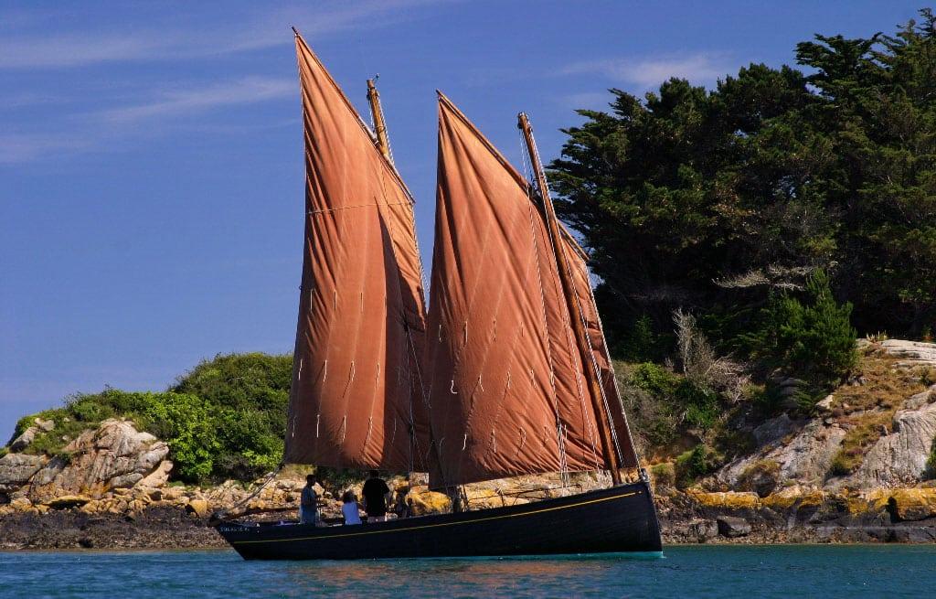 Ile de Brehat en bateau