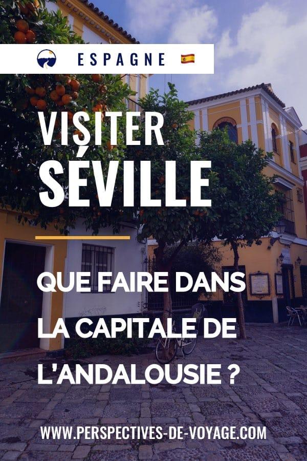 Visiter Seville en Espagne : que faire dans la capitale de l'andalousie ?