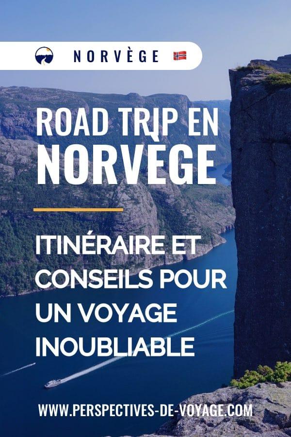 Road trip Norvège : itinéraire et conseils