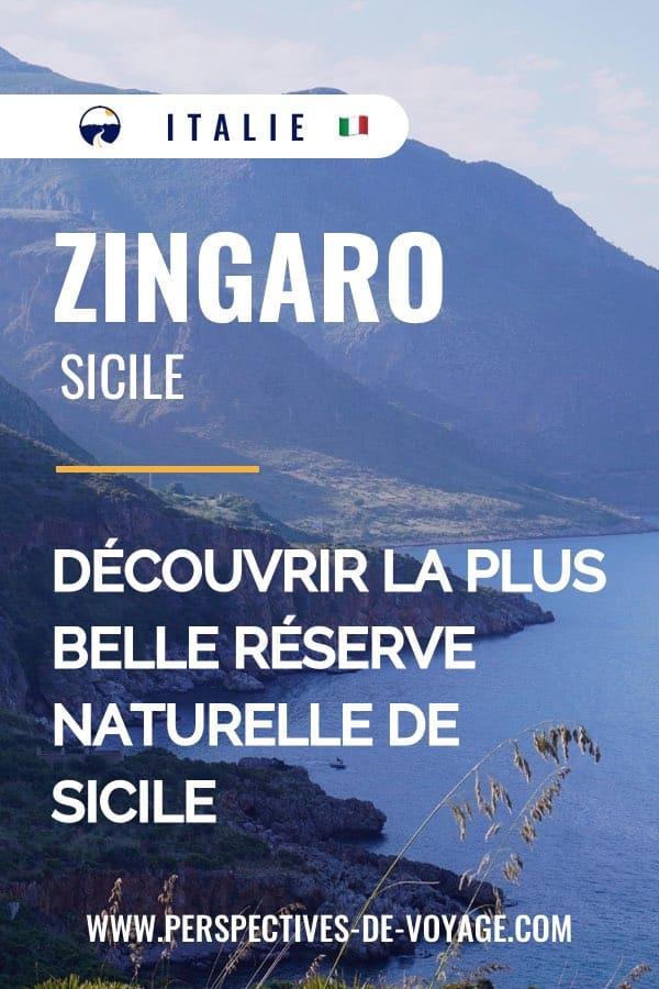 Zingaro, Sicile