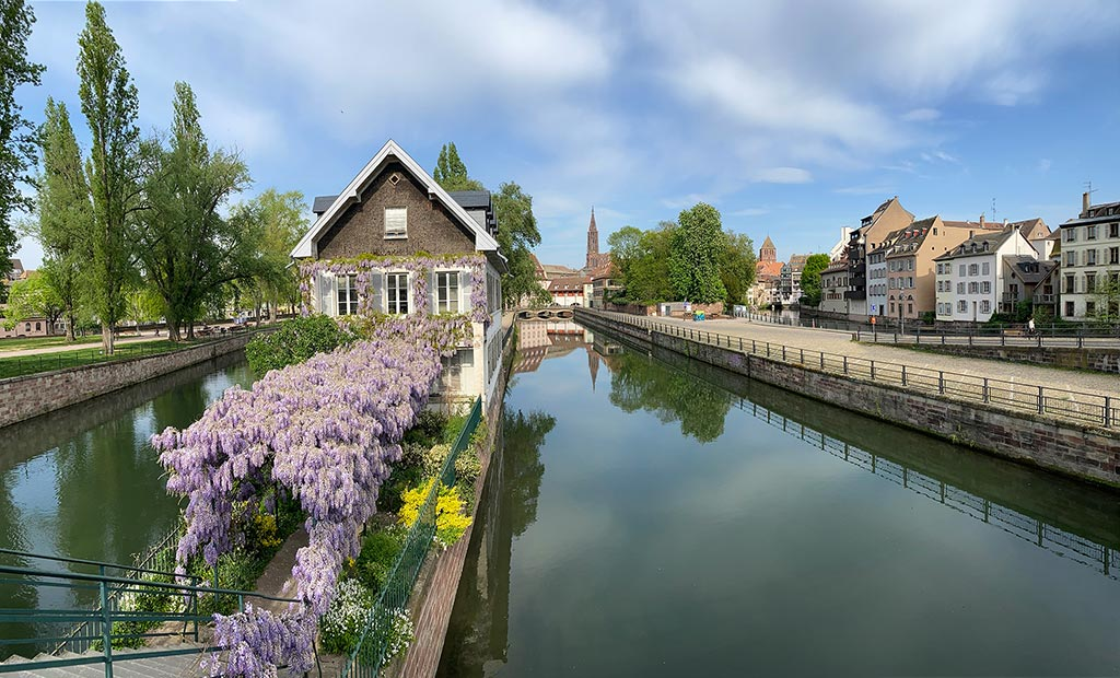 Strasbourg dans le Bas Rhin