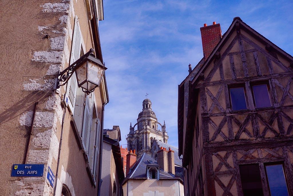 Rue du Puits Châtel à Blois