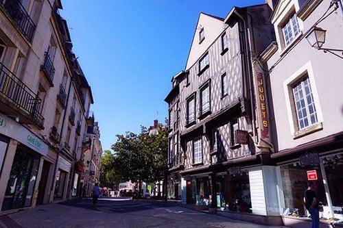 Rue du commerce Blois