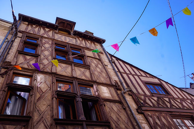 Rue Saint Lubin à Blois