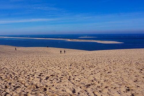 Image de la Dune du pilat face au Banc d'Arguin