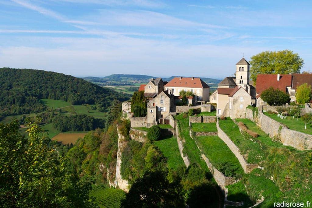 Village dans le Jura