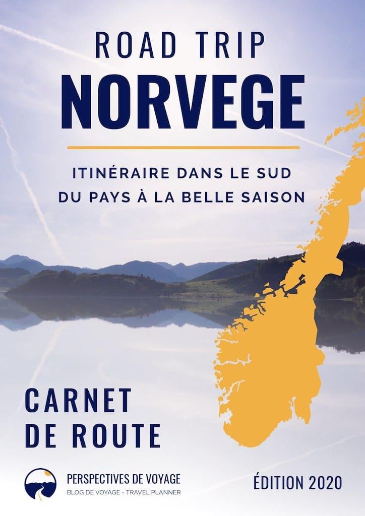 Couverture du guide de voyage Road trip en Norvège