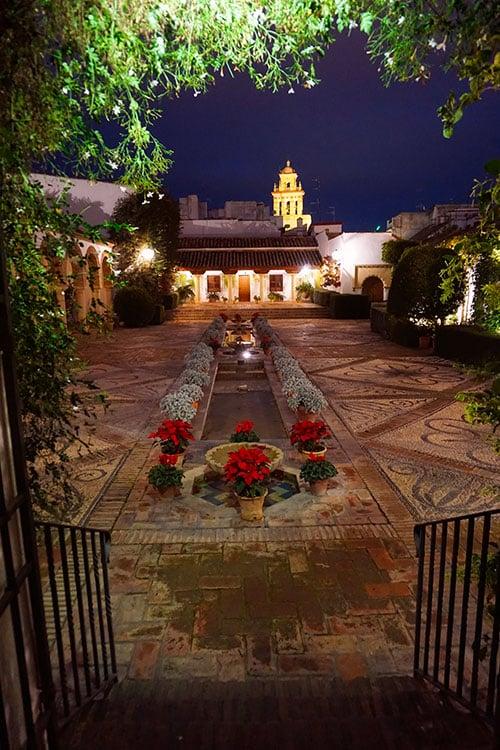 Photographie du palais de Viana a Cordoue