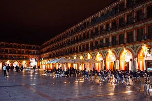 Photographie de la plaza de la corredera a Cordoue