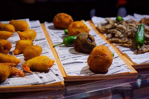 Photographie de plats typique andalou