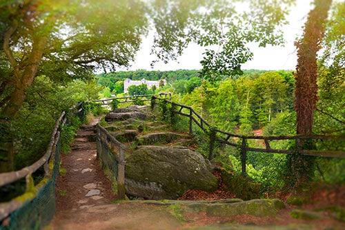 Photographie du point de vue du Roc au Chien à Bagnoles de l'Orne
