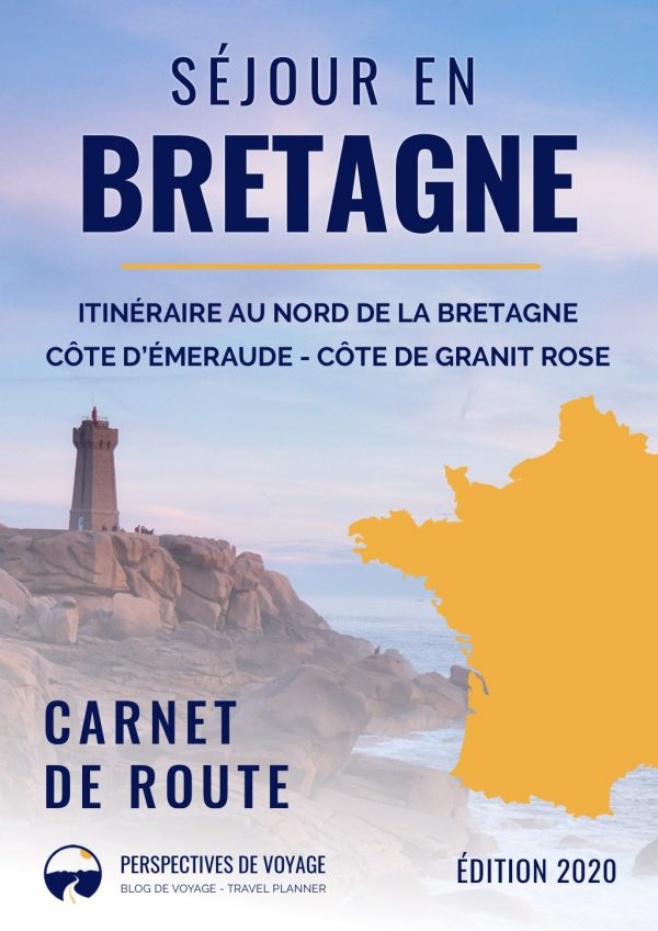 Couverture du Carnet de route de la Bretagne