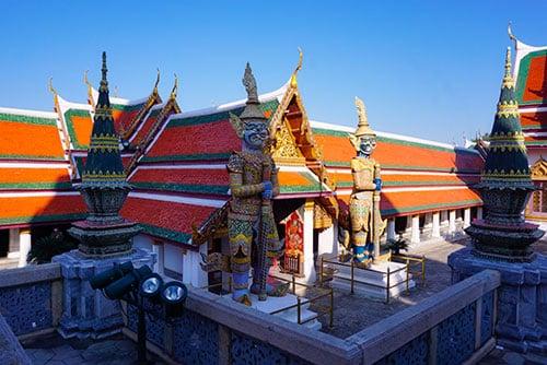 Photographie du grand palais à Bangkok