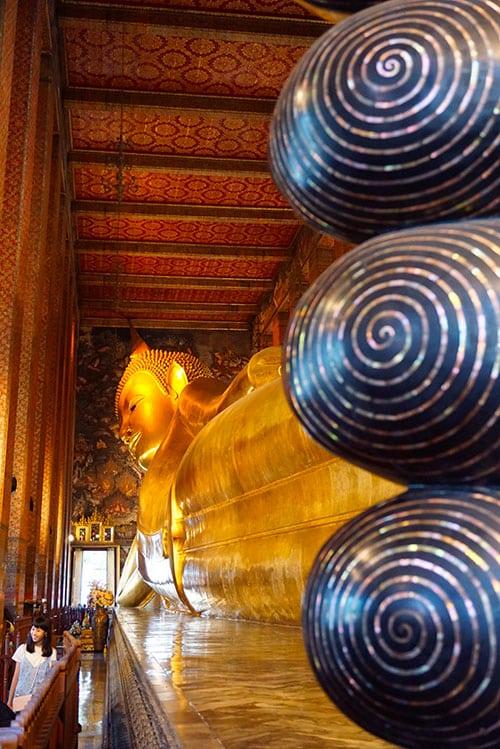 Photographie du Bouddha Couché au Wat Pho