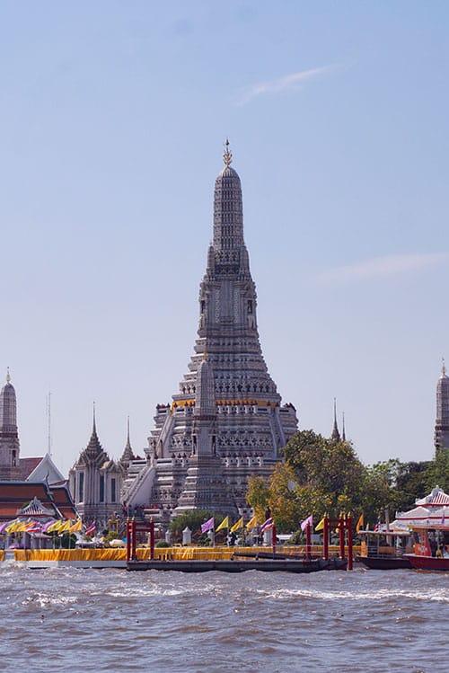 Photographie du Wat Arun à Bangkok