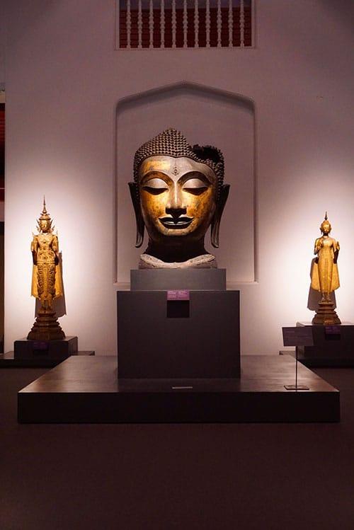 Photographie du Musée National de Bangkok