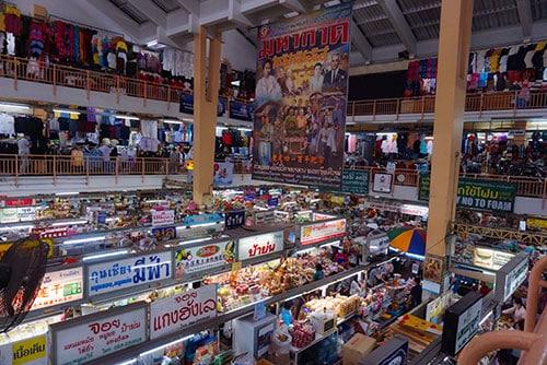 Photographie du Warorot Market à Chiang Mai
