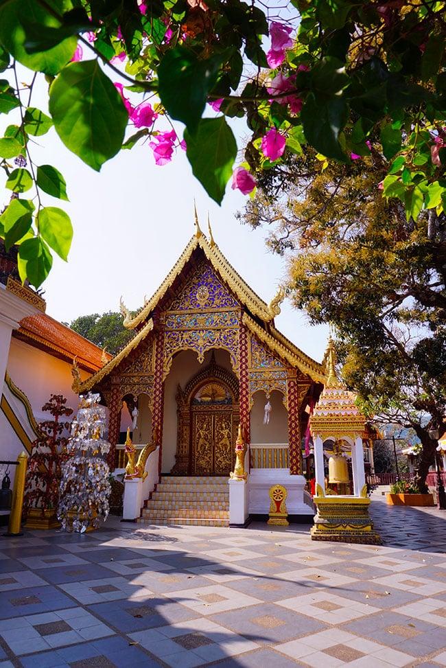 Photographie du Wat Doi Sutheo