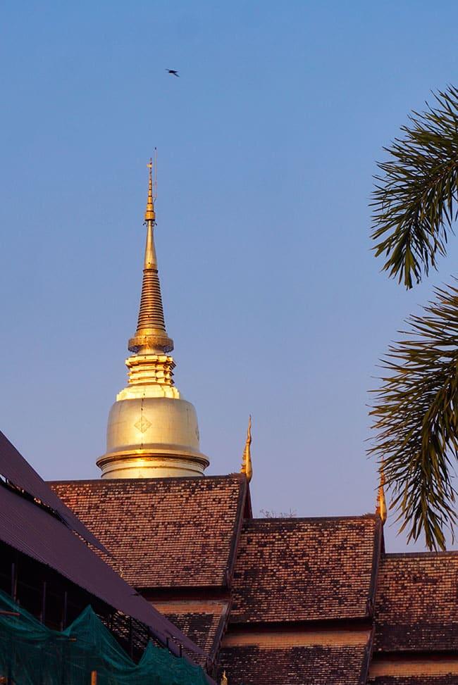 Photpgrapgie du stupa principal du Wat Phra Singh