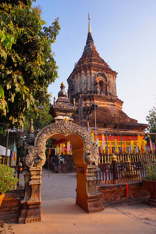 Photographie du Wat Lok Molee à Chiang Mai